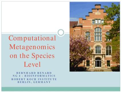 Computational Metagenomics on the Species Level